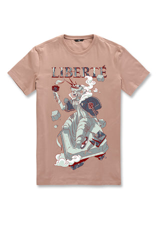 Liberty T-Shirt (Dusty Rose)