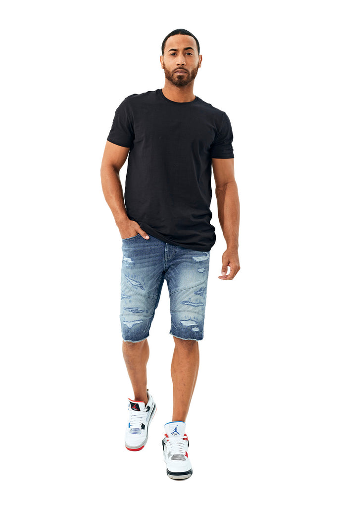 Brigantine Denim Shorts (Aged Wash)