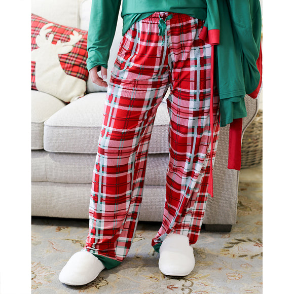 Women's Alpine Plaid Sleep Pants Holiday Royal Standard Pajamas