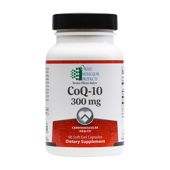 Ortho Molecular CoQ-10 300mg (60 Soft Gel Capsules) - D & D Collectibles