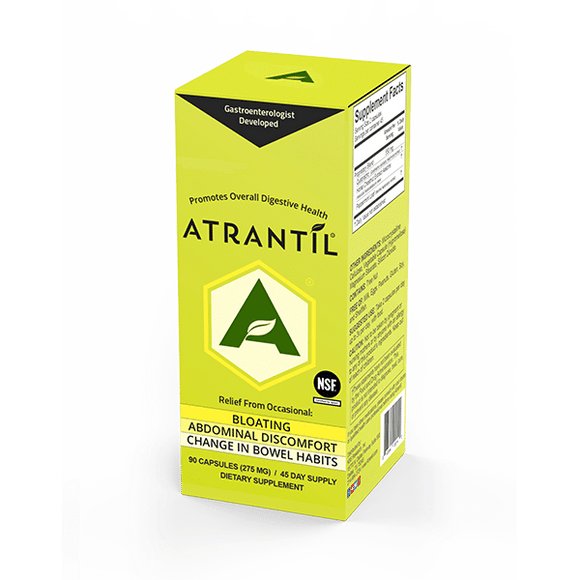 ATRANTíL (90 Count) – Bloating Relief and Everyday Digestive Health - D & D Collectibles