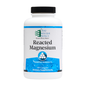 Ortho Molecular Reacted Magnesium (180 Capsules) - D & D Collectibles