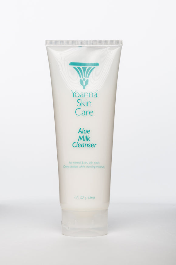 Aloe Milk Cleanser 4 oz by Yoanna SkinCare - D & D Collectibles