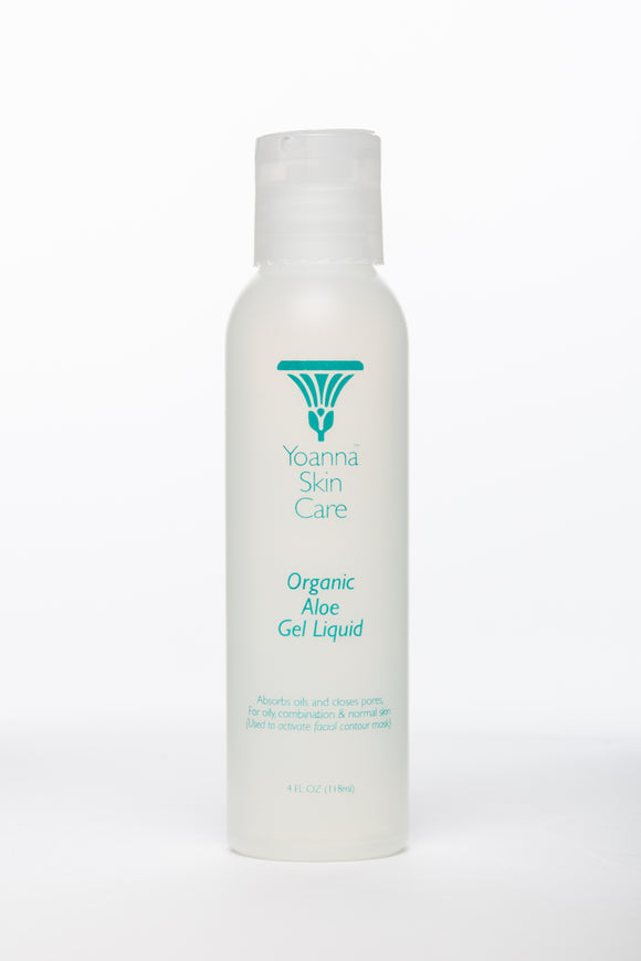 Organic Aloe Gel Liquid 4oz by Yoanna SkinCare - D & D Collectibles