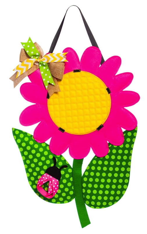 Daisy Door Decor Spring / Summer Evergreen - D & D Collectibles
