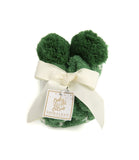 Shiraleah Alma Home Socks Green Holiday