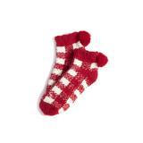 Shiraleah Alma Home Socks Red Holiday