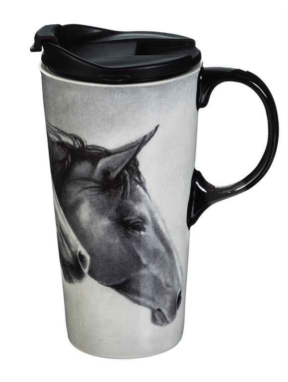 Wild Horses Mug The Perfect Cup in Gift Box - D & D Collectibles