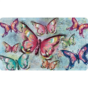 Butterfly Kaleidoscope Trapper Mat - D & D Collectibles