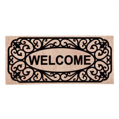Sassafras Switch Mat Welcome by Evergreen - D & D Collectibles
