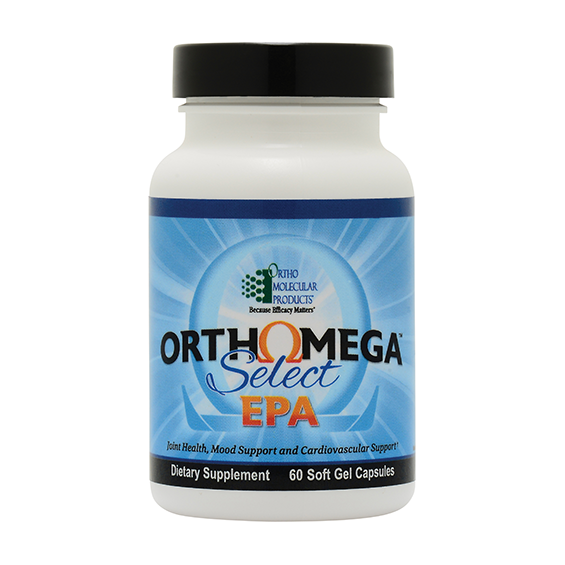 Ortho Molecular Ortho Omega Select EPA (60 Soft Gel Capsule) - D & D Collectibles