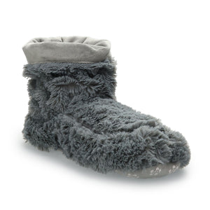 Warmies® Gray Warmies Boots Slipper