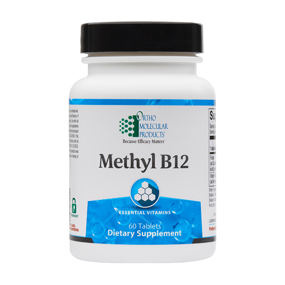 Ortho Molecular Methyl B12 (60 Tablets) - D & D Collectibles
