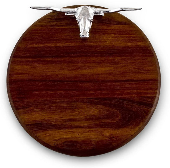 Wooden Western Longhorn Cutting Board 12