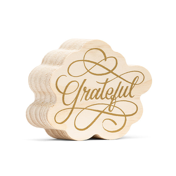 Grateful Inspiring Art On Wood - D & D Collectibles