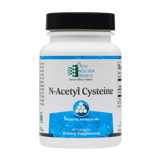Ortho Molecular N-Acetyl Cysteine (60 Capsules) - D & D Collectibles
