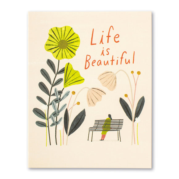 Life is Beautiful Birthday Card by Compendium - D & D Collectibles