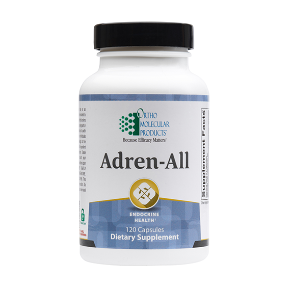 Ortho Molecular Adren-All (120 Capsules) - D & D Collectibles