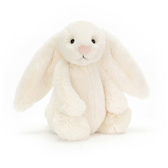 Bashful Cream Bunny Medium by JellyCat - D & D Collectibles