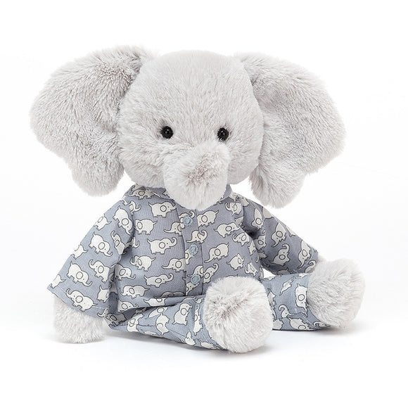 Bedtime Elephant Small by JellyCat - D & D Collectibles