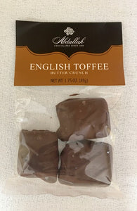 Abdallah English Toffee 1.75 oz The Best Chocolate Ever - D & D Collectibles
