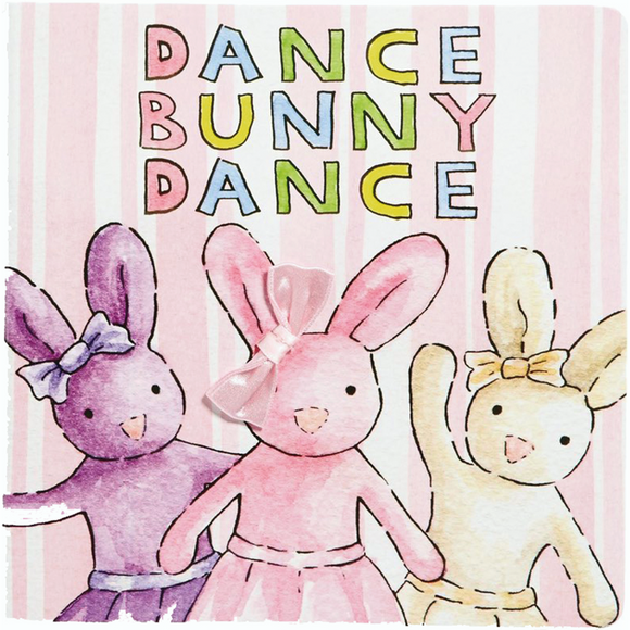 Dance Bunny Dance Book by JellyCat - D & D Collectibles