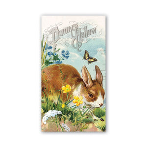 Bunny Hollow Hostess Napkins by Michel Design Works