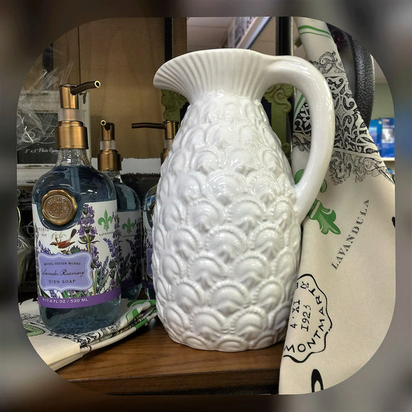New Welcome Pineapple Pitcher - D & D Collectibles