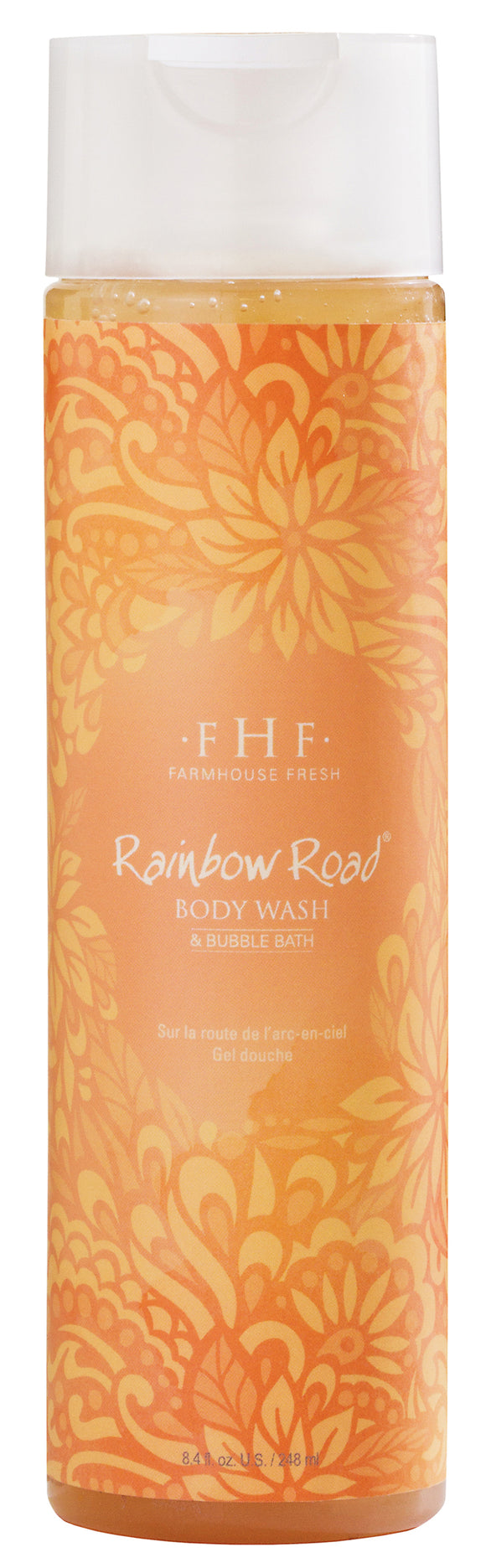 Rainbow Road Body Wash 8.4 oz by Farmhouse Fresh - D & D Collectibles