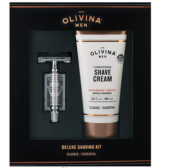 Olivina Deluxe Shaving Kit Made In The USA - D & D Collectibles