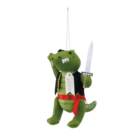 Albert The Alligator Christmas Ornament - D & D Collectibles