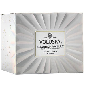 Voluspa Corta Maison Bourvon Vanille Candle 11 oz Made in the USA - D & D Collectibles