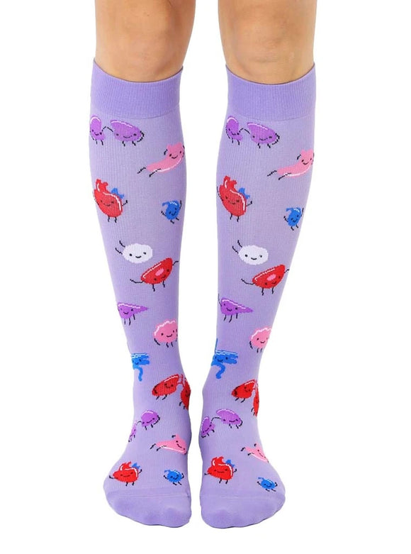 Living Royal Doctor Compression Knee High Socks - D & D Collectibles