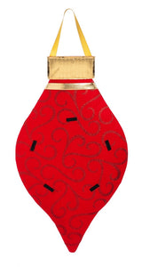 Door Decor Red Ornament - D & D Collectibles