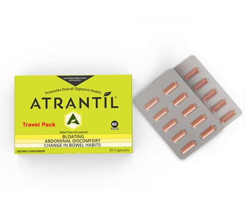 ATRANTíL (20 Count) – Bloating Relief and Everyday Digestive Health - Travel Pack - D & D Collectibles
