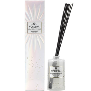 Voluspa Bourbon Vanille Fragrance Diffuser 6.5 fl oz Made in the USA - D & D Collectibles