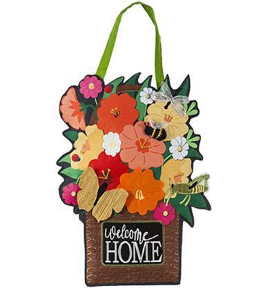 Garden Friends Door Hanger Door Decor - D & D Collectibles