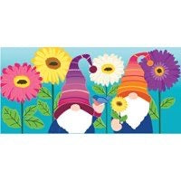 Sassafras Switch Mat Garden Gnomes by Evergreen