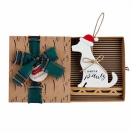 Happy Hallidays Dog Ornament by Mud Pie