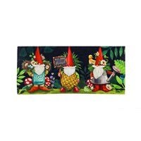 Sassafras Switch Mat Gnomes In The Garden by Evergreen