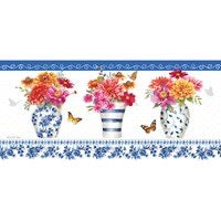 Sassafras Switch Mat Chinoiserie Garden by Evergreen