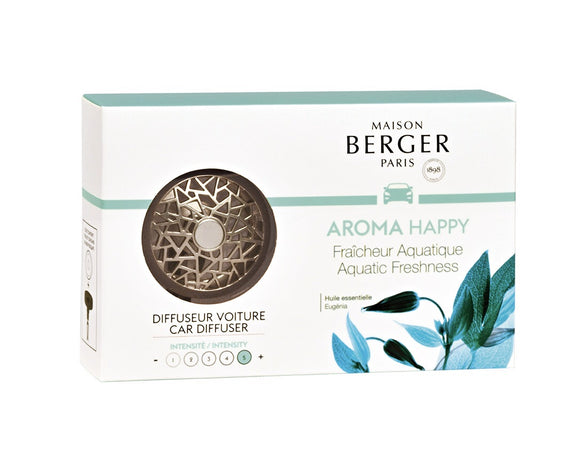Maison Berger Car Diffuser Aroma Happy Lampe Berger - D & D Collectibles