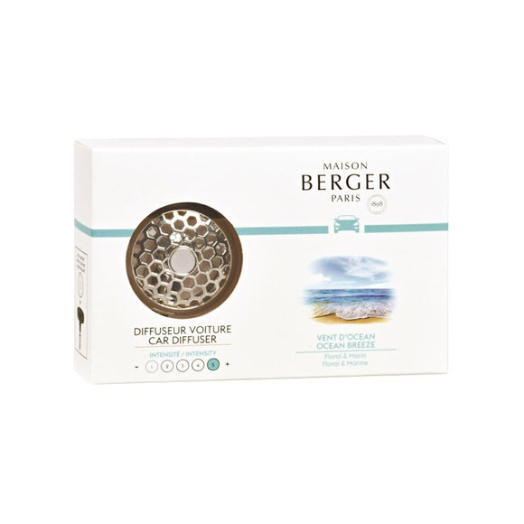 Maison Berger Car Diffuser Ocean Breeze Lampe Berger - D & D Collectibles