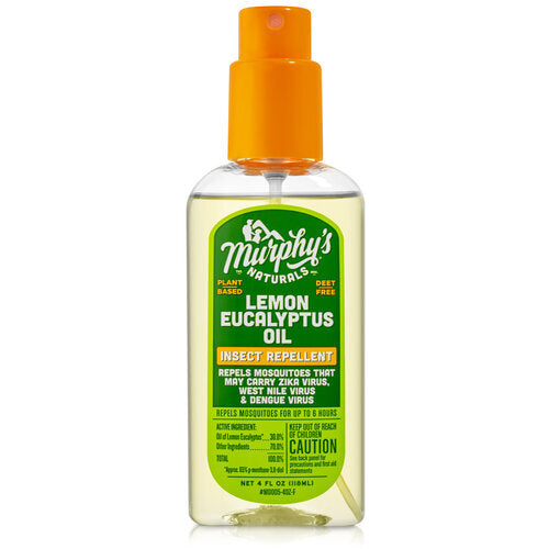Murphy's Naturals Lemon Eucalyptus Oil Insect Repellent 4 oz - D & D Collectibles