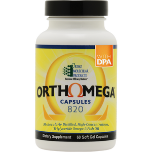 Ortho Molecular Ortho Omega 820 (120 Soft Gel Capsule) - D & D Collectibles