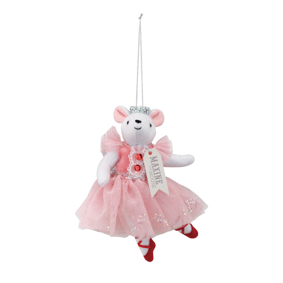 Maxine The Mouse Christmas Ornament - D & D Collectibles
