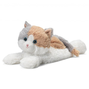 "Warmies® Calico Cat Large 13"" heatable soft toys"