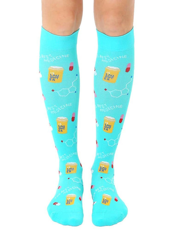 Living Royal Pharmacy Compression Knee High Socks - D & D Collectibles