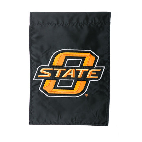 Garden Flag Oklahoma State University Appliqued OSU - D & D Collectibles