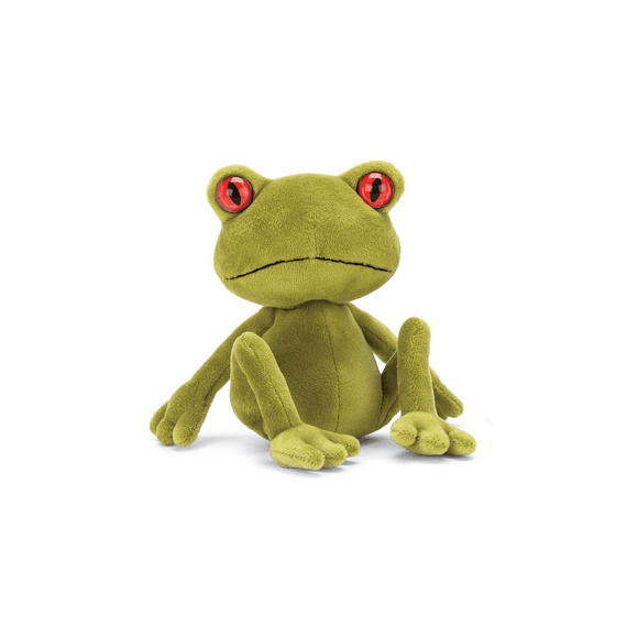 JellyCat Little Tad Tree Frog - D & D Collectibles